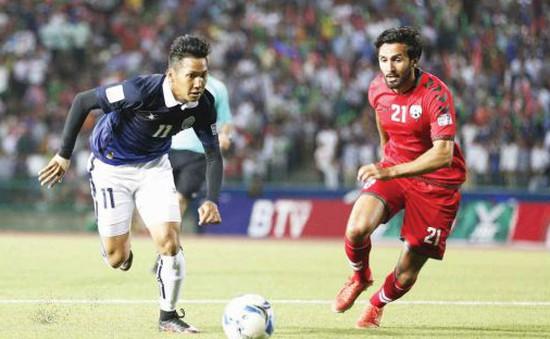 BXH vòng loại Asian Cup: Thắng sốc Afghanistan, ĐT Campuchia thế chỗ ĐT Việt Nam