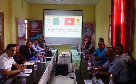 Thúc đẩy quan hệ giữa Việt Nam với tỉnh Biskra của Algeria