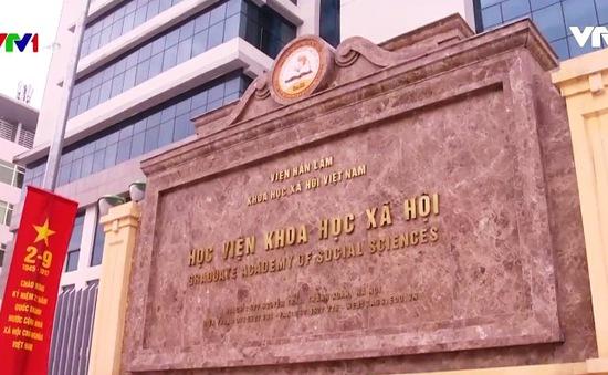 Sai phạm trong đào tạo Tiến sỹ tại Viện Hàn lâm KHXH Việt Nam
