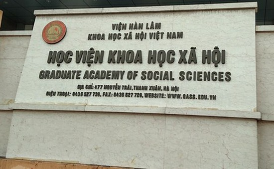 Phát hiện sai phạm của Học viện KHXH về đào tạo sau đại học