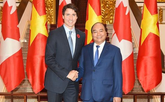 Toàn văn Tuyên bố chung Việt Nam - Canada