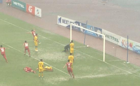 Vòng 9 giải bóng đá Hạng Nhất Quốc Gia 2017: CLB Viettel chia điểm với CLB Đồng Tháp