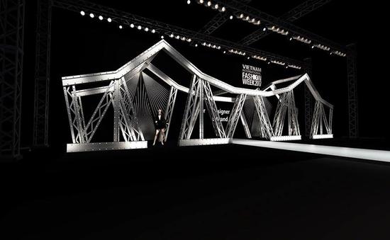 Hé lộ thiết kế cầu Long Biên trên sân khấu Tuần lễ thời trang quốc tế Việt Nam Thu - Đông 2017