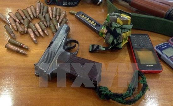 Phá đường dây buôn bán vũ khí trên mạng xã hội