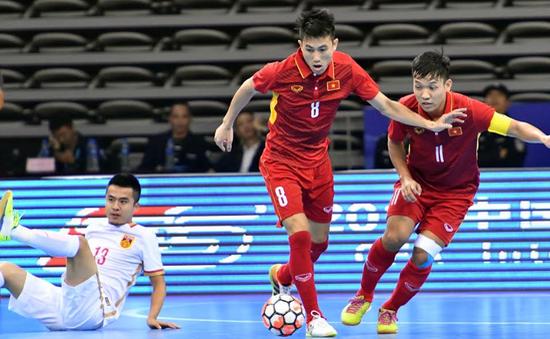 ĐT Futsal Việt Nam xác định các đối thủ ở VCK Futsal châu Á 2018