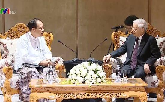 Tăng cường giao lưu nhân dân Việt Nam - Myanmar