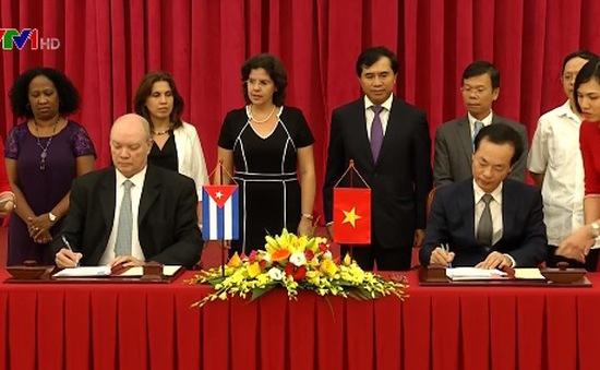 Bế mạc Kỳ họp Ủy ban Liên Chính phủ Việt Nam - Cuba