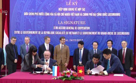 Tăng cường hợp tác Việt Nam và Luxembourg