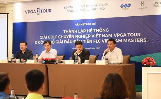 Ra mắt hệ thống giải Golf chuyên nghiệp Việt Nam