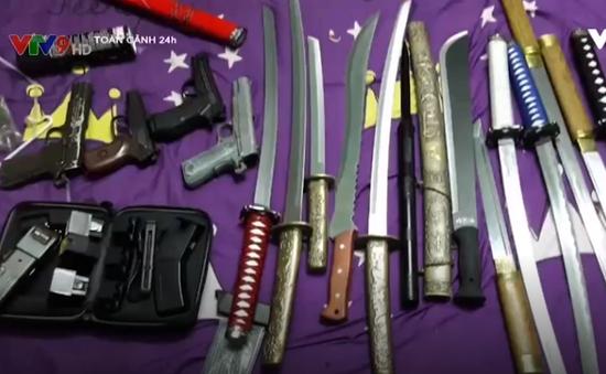 Triệt phá đường dây mua bán, chế tạo vũ khí liên tỉnh