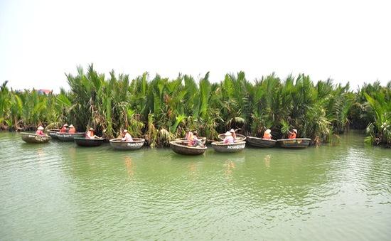 Làm du lịch từ vườn dừa