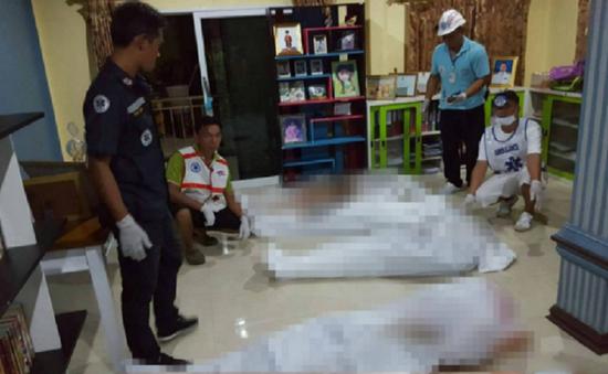 Xả súng tại Thái Lan, 8 người thiệt mạng