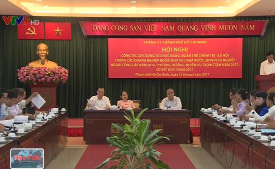 TP.HCM nỗ lực đẩy mạnh xây dựng Đảng trong khối doanh nghiệp