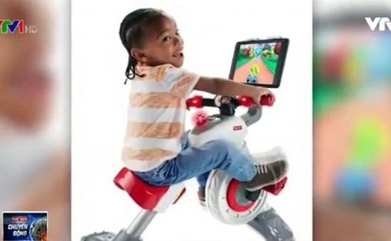 Xe đạp thông minh giúp trẻ vừa chơi vừa học