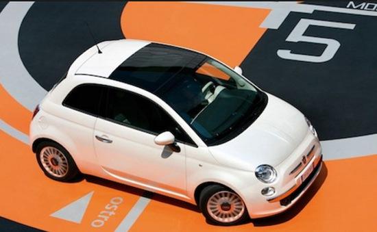 Diễu hành kỷ niệm 60 năm xe Fiat 500
