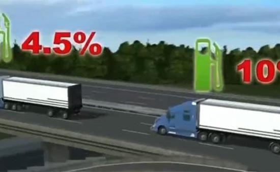 Công nghệ giúp xe tải tiết kiệm nhiên liệu