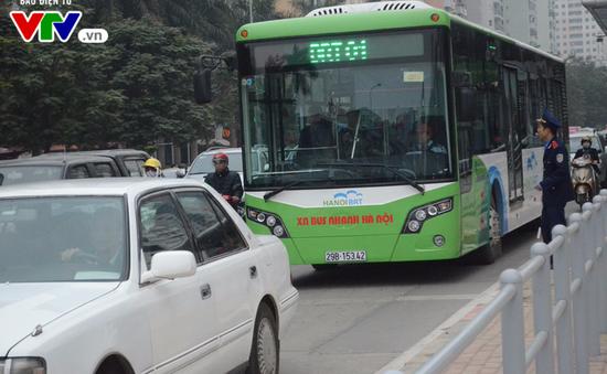 Sử dụng vé điện tử trên tuyến BRT từ 10/10