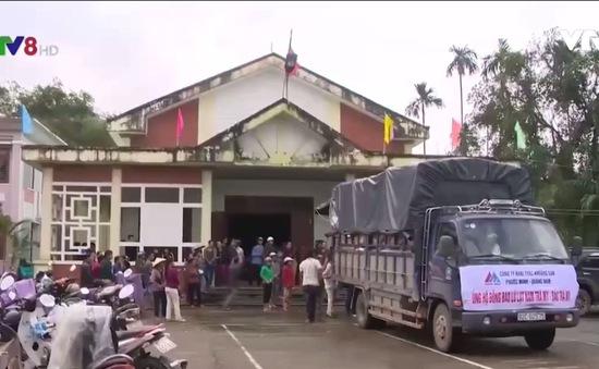 Cả nước hướng về người dân vùng sạt lở núi Quảng Nam