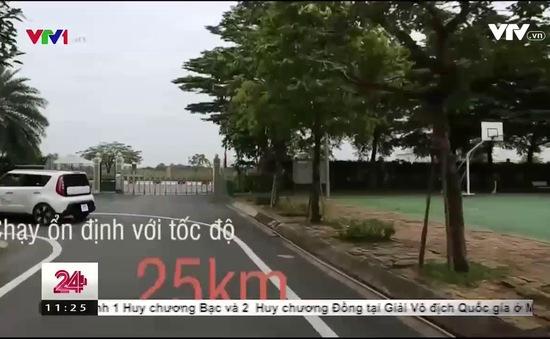 Việt Nam thử nghiệm thành công lăn bánh xe ô tô tự lái