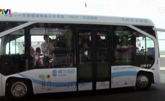 Trung Quốc thử nghiệm xe bus tự hành