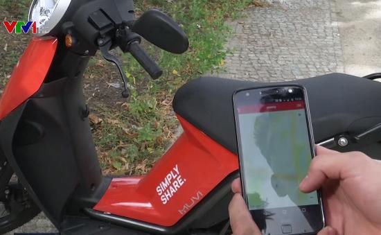 Đức ra mắt ứng dụng chia sẻ xe máy điện