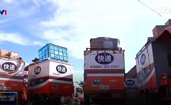 Báo động tình trạng xe chuyển phát nhanh gây tai nạn tại Trung Quốc