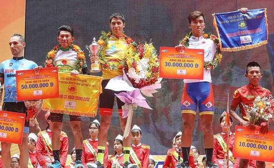 Giải xe đạp cúp truyền hình TP.HCM 2017: Alex Phounsavath giành áo Vàng chung cuộc