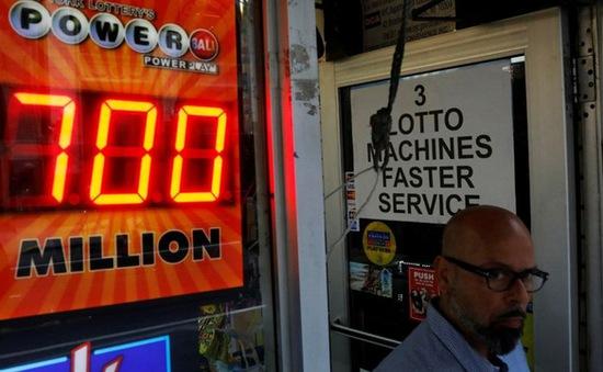 Giải xổ số Powerball 759 triệu USD ở Mỹ đã có chủ nhân