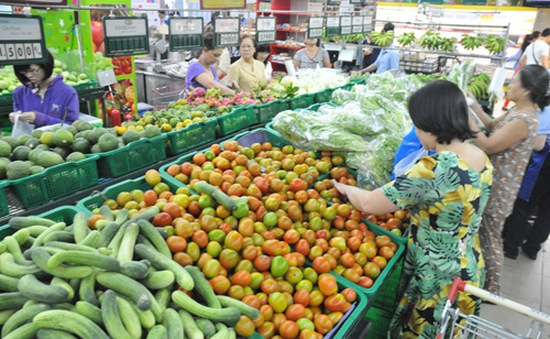 Xuất khẩu rau củ quả tăng 46,5%