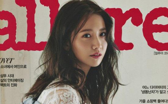 Yoona (SNSD) đẹp dịu dàng tựa nắng thu trong loạt ảnh mới