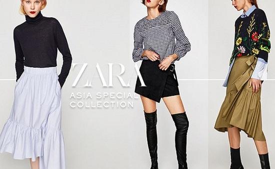 Zara công bố BST dành riêng cho châu Á