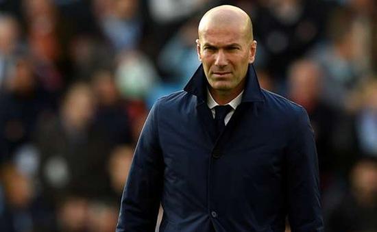 Không có chuyện Real sắp sa thải Zidane