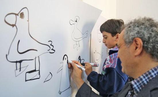 Lớp học nghệ thuật cho trẻ tự kỷ tại Jordan