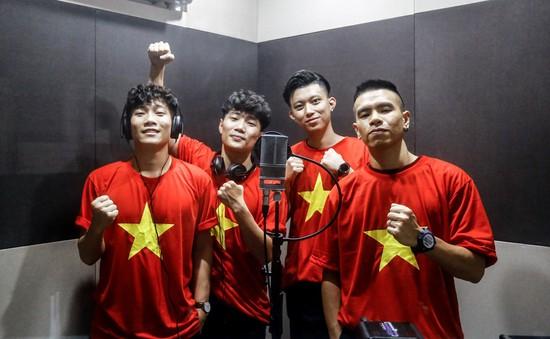 Nhóm Oplus tung ca khúc mới cổ vũ U23 Việt Nam