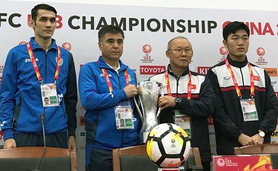 VIDEO: Toàn cảnh buổi họp báo trước trận chung kết U23 châu Á giữa U23 Việt Nam và U23 Uzbekistan