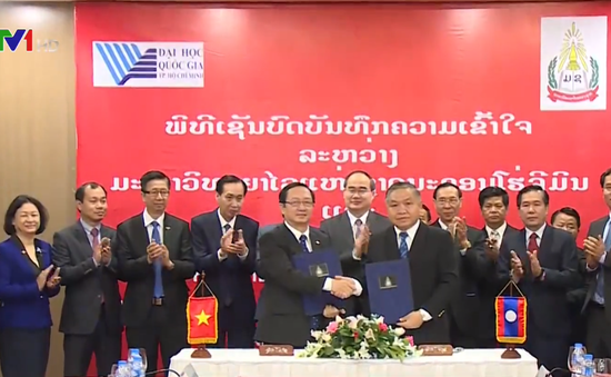Tăng cường hợp tác giáo dục đại học Việt - Lào
