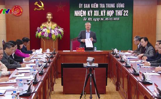 Đề nghị Ban Bí thư kỷ luật nguyên Bí thư Tỉnh ủy Quảng Nam Lê Phước Thanh