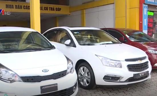 Ô tô cũ tăng giá dịp Tết Nguyên đán 2018