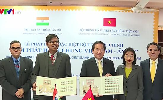 """Phát hành bộ tem """"Tem phát hành chung Việt Nam - Ấn Độ"""""""