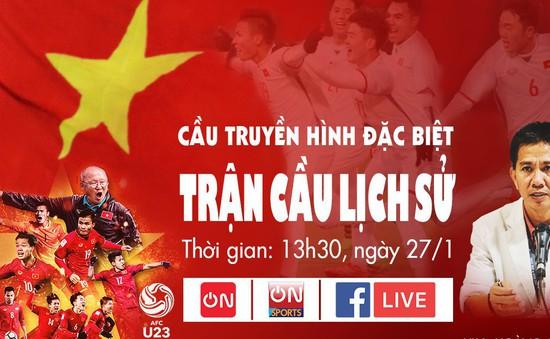 Cafe On Sports đồng hành cùng U23 Việt Nam