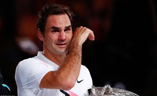 Khoảnh khắc Roger Federer đăng quang Australia mở rộng 2018