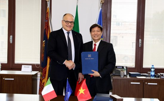 Tỉnh Bà Rịa - Vũng Tàu thiết lập quan hệ hữu nghị và hợp tác với vùng Veneto của Italy