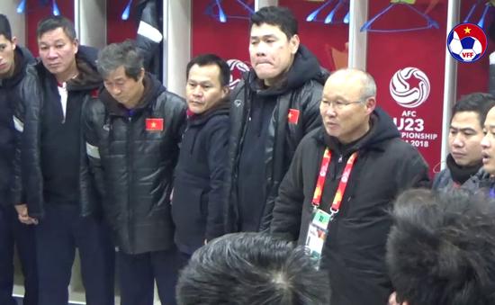 """HLV Park Hang Seo căn dặn U23 Việt Nam: """"Hãy tự hào về những gì đã làm, lần sau chiến thắng là được"""""""