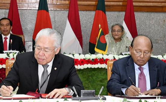 Bangladesh và Indonesia ký 5 thỏa thuận hợp tác