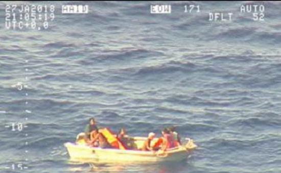 Tiếp tục tìm kiếm nạn nhân vụ chìm phà trên Thái Bình Dương