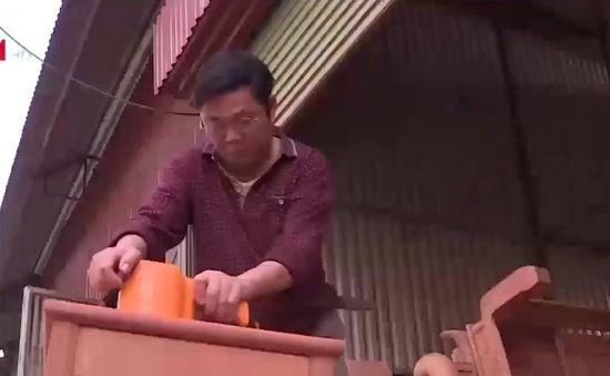 Hơn 70% số hộ dân tại các làng nghề đồ gỗ chưa lên doanh nghiệp