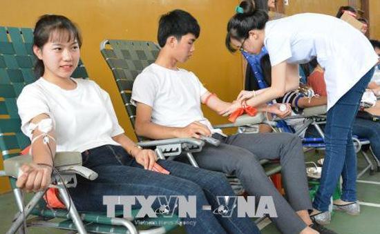 Đăk Lăk thu hơn 3.700 đơn vị máu trong chương trình Chủ nhật đỏ năm 2018