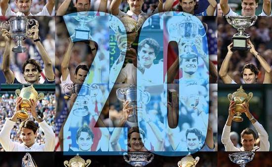 Roger Federer đã giành 20 danh hiệu Grand Slam như thế nào?