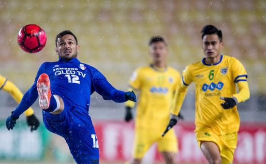 Play-offs AFC Champions League: FLC Thanh Hóa thua đậm trên mặt sân phủ tuyết