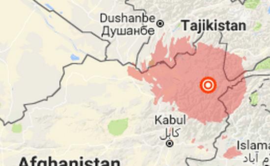 Động đất mạnh tại Afghanistan ảnh hưởng tới các nước Nam Á